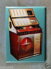 "Vintage Jukebox Fridge Magnet 2 1/2"" x 3 1/2"" Rowe AMI 1960 45 rpm Vinyl Record"