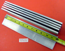 "6 Pieces 1/4"" X 3"" ALUMINUM 6061 FLAT BAR 12"" long T6511 Plate Mill Stock .25"""