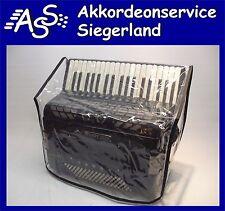ABDECKHAUBE Staubschutz f. AKKORDEON Morino u.a.96-120 B. transp Cover, Size L