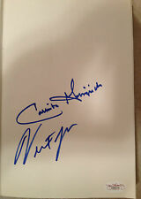 "NEWT & CALLISTA GINGRICH Signed 1st Edition ""A Nation Like No Other"" JSA"