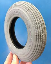 Reifen Rollstuhl 7 x 1 3/4, grau, 175x40 Rillenprofil für manuelle Rollstühle