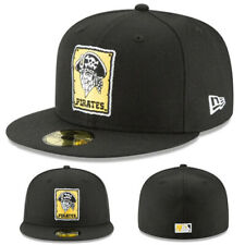 New Era Pittsburgh Pirates Fitted Hat Cooperstown Classic 1967 Patch Wool Cap