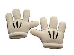 Mouse Hands Gloves Large Ears Fancy Dress