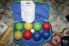 Franklin Bocce Ball Set 9 Piece with Nylon Carrying Case Pallino/Jack Ball Game
