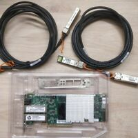 HP NC523SFP 593742-001 593715-001 10Gb network card +2PCS 3M SFP+ Cable
