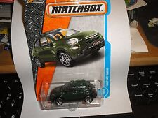 MATCHBOX '16 Fiat 500X #3 Green 2017 Case C