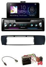 Pioneer USB MP3 Bluetooth DAB Autoradio für BMW X3 (E83 2004-2010) seitlich