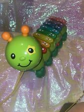 Vtech Zoo Jamz Xylophone Caterpillar Lights Music Baby Toddler Pull Toy