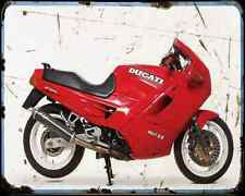 Ducati 907 Ie 4 A4 Photo Print Motorbike Vintage Aged