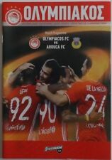 Olympiakos Football European Club Fixtures