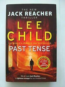 Past Tense by Lee Child Signed 1st Edition 2018, Hardback + D/J Jack Reacher