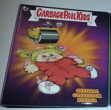NEW  topps GPK GARBAGE PAIL KIDS OFFICIAL BINDER/ALBUM RHONDA