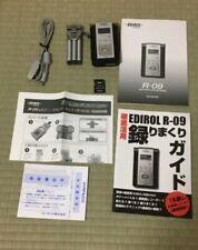Edirol Roland R-09 24-bit Black Edition Wave MP3 Digital Audio Recorder set