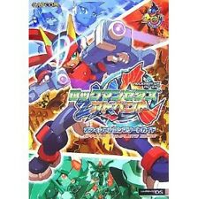 Mega Man Rockman ZX Advent Official Complete Guide Book / DS