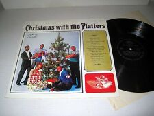 THE PLATTERS Christmas With The Platters MERCURY 125323 Venezuelan Pressing MONO