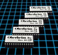 Oberheim OB-8 Software Rev B5 Upgrade Kit EPROM Set LATEST FIRMWARE DSX MIDI
