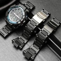 Stainless Steel Wristband Metal Strap Watch Bracelet Replace for Casio G-shock