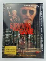 SURVIVING THE GAME (DVD, 1999) Rare, OOP Ice-T, Gary Busey, Rutger Hauer NEW