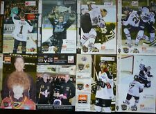 New listing Collection of 8 x Nottingham Panthers ice hockey programmes  (Jan - Mch 2011)