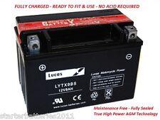 1998-2001 Lucas YTX12BS Motorcycle Battery HONDA VFR800FI INTERCEPTOR 800 CC