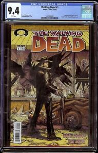 Walking Dead # 1 CGC 9.4 White (Image, 2003) 1st appearance Rick Grimes