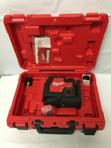 Milwaukee 3521-21 USB Rechargeable Green Cross Line Laser GR KIT