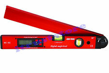 LONG DIGITAL ELECTRONIC PROTRACTOR GAUGE ANGLE FINDER PROTRACTER GAGE LEVEL TOOL