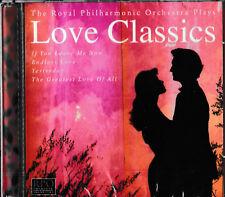 The Royal Philharmonic Orchestra plays Love Classics  / CD / NEU+OVP-SEALED!