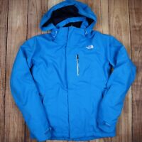 The North Face Womens Blue Jacket Hyvent Hooded Size Medium