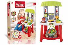 Enfants Jeu de rôle 23 PC super marché Jouet Supermarché Shop stand de marché