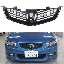 FRONT Bumper Grille for Honda ACCORD CL7 Type-S Euro-R Acura 02-05 TSX Mugen