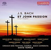 Sophie Bevan - Bach:St John Passion (Sung In English) [Sophie Bevan; [CD]