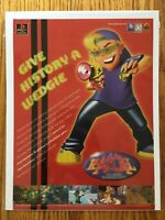 Rascal Playstation PS1 PSX 1998 Vintage Video Game Poster Ad Art Print Rare HTF