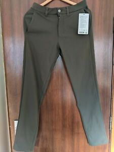 "Lululemon Commission Pant Slim 32""L, Size 29, Brand New RRP £118"
