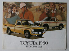 TOYOTA Pick-up 4X4 1980 dealer brochure - French - Canada - ST501000518