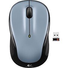 Logitech M325 Silver USB Wireless Optical Mouse w/Unifying NANO Receiver