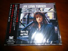Joe Lynn Turner / Hurry Up And Wait JAPAN OOP NEW!!!!!!!!! B6