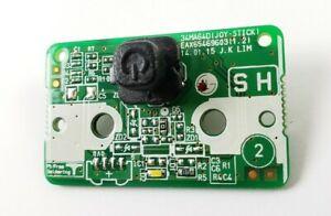 LG Menu Function Button Board 34MA64D (P/N: EAX65469603)