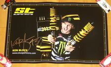 2016 Ken Block signed ST Suspensions SEMA Show Promo FIA World RallyCross Poster