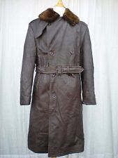 M-69 VINTAGE WWII US NAVY TRANSPORT LEATHER JACKET COAT SIZE 42 WORLD WAR 2 USA