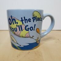 Dr Seuss Oh, The Places You'll Go! Coffee Mug Tea Cup Blue