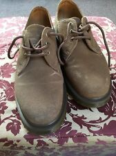 Dr Martens 10078 Aire Wair para mujeres Zapatos De Gamuza Marrón UK 5