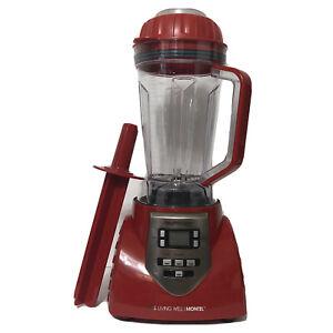 Montel Williams Living Well HealthMaster Elite Blender 8 Speed JLA-8 Red