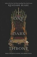 One Dark Throne, Hardcover by Blake, Kendare, Like New Used, Free P&P in the UK