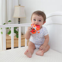 Baby Teether Rattle Product Fawn Hedgehog Animal Bear Cow Fox Lovely Popular QL
