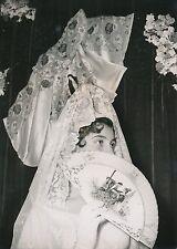 BIARRITZ 1954 - Jeune Femme Costume Éventail Le Bal des Toréadors - PR 462