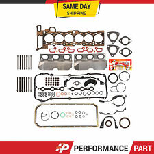 Full Gasket Set Head Bolts for 01-06 BMW 325i 530i X3 X5 Z4 2.5 3.0 DOHC M54
