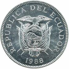 COIN / ECUADOR / 5 SUCRES 1988   UNC    #WT18174