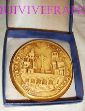 MED9606 - MEDAILLE PRESSE-PAPIER SCEAU VILLE DE LYON 1271