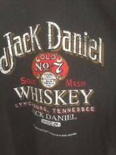 Jack Daniel Vintage Style, Old No 7 Black T-Shirt size Medium